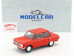 Saporoshez SAS 966 Bouwjaar 1966 rood 1:18 Model Car Group