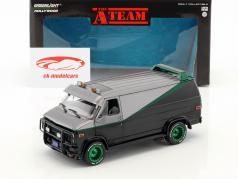B.A.'s GMC Vandura ano de construção 1983 série de TV o A-Team (1983-87) verde versão 1:24 Greenlight