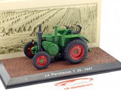 Le Pecheron T25 Bouwjaar 1947 groen 1:32 Atlas