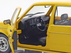 Volkswagen VW Golf 1 Duitse Federaal postkantoor Bouwjaar 1974 geel 1:18 Solido