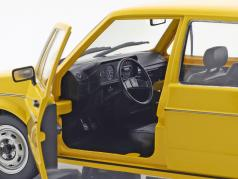 Volkswagen VW Golf 1 German Federal post office year 1974 yellow 1:18 Solido