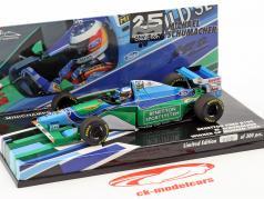 M. Schumacher Benetton B194 wereldkampioen Monaco GP formule 1 1994 1:43 Minichamps