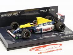 Damon Hill Williams Renault FW13B Test Silverstone Formel 1 1991 1:43 Minichamps