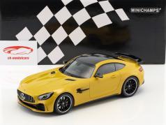 Mercedes-Benz GTR year 2017 yellow 1:18 Minichamps