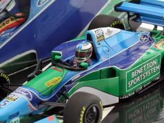 M. Schumacher Benetton B194 verdensmester Monaco GP formel 1 1994 1:43 Minichamps