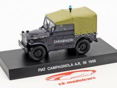 Fiat Campagnola A.R. 59 Год постройки 1959 темно-синий 1:43 Altaya