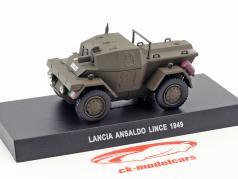 Lancia Ansaldo Lince year 1949 olive green 1:43 Altaya