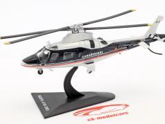 Agusta A109 вертолет Год постройки 2003 синий / белый 1:72 Altaya