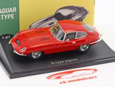 Jaguar E-Type rouge 1:43 Atlas