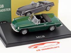 MGB Roadster verde 1:43 Atlas