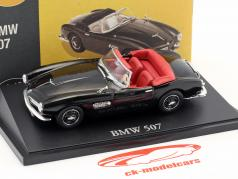 BMW 507 Cabriolet black 1:43 Atlas