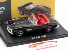 BMW 507 Cabriolet schwarz 1:43 Atlas