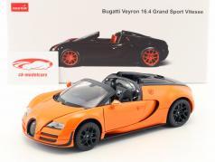 Bugatti Veyron 16.4 Grand Sport Vitesse orange / black 1:18 Rastar