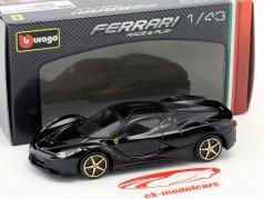 Ferrari LaFerrari black 1:43 Bburago