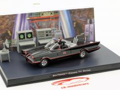 Batmobile Batman TV Series 1966 negro 1:43 Ixo Altaya