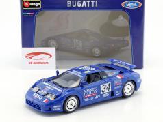 Bugatti EB 110 Super Sport #34 24h LeMans 1994 Michel Hommell 1:18 Bburago