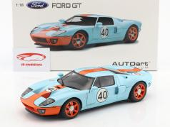 Ford GT #40 Gulf Livery Year 2004 1:18 AUTOart