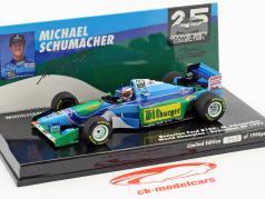 Michael Schumacher Benetton B194 #5 australiano GP campione del mondo formula 1 1994 1:43 Minichamps