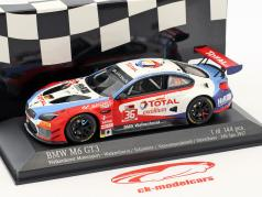 BMW M6 GT3 #36 24h Spa 2017 Walkenhorst Motorsport 1:43 Minichamps