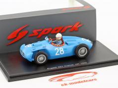 Maurice Trintignant Bugatti T251 #28 Francia GP formula 1 1956 1:43 Spark