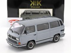 Porsche B32 gebaseerde op Volkswagen VW T3 bus Bouwjaar 1984 grijs metalen 1:18 KK-Scale