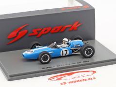 Bob Anderson Brabham BT11 #17 Frankreich GP Formel 1 1967 1:43 Spark