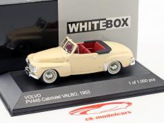 Volvo PV445 Cabriolet Valbo year 1953 beige 1:43 WhiteBox