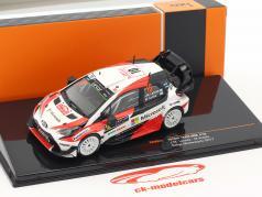 Toyota Yaris WRC #10 2e Rallye Monte Carlo 2017 Latvala, Anttila 1:43 Ixo