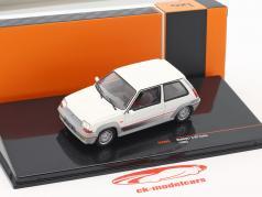 Renault 5 GT Turbo année de construction 1985 blanc 1:43 Ixo