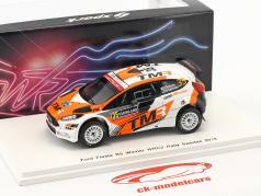 Ford Fiesta R5 #35 gagnant WRC2 Rallye Suède 2018 Katsuta, Salminen 1:43 Spark