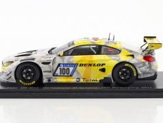 BMW M6 GT3 #100 24h Nürburgring 2017 Krognes, Di Martino, Henkola, Menzel 1:43 Spark