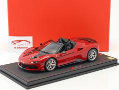 Ferrari J50 Roadster 50th Anniversary Ferrari Japan 2016 red with showcase 1:18 BBR
