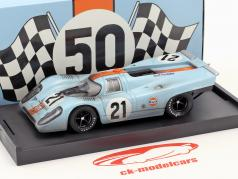 Porsche 917K Dirty Version #21 24h LeMans 1970 Rodriguez, Kinnunen 1:43 Brumm