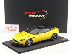 Aston Martin DB11 sunburst geel 1:18 TrueScale