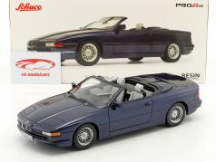 BMW 850i Cabriolet blue 1:18 Schuco