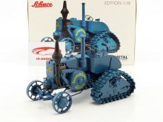 Lanz Bulldog half caterpillar blue 1:18 Schuco
