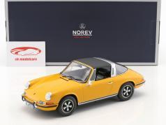 Porsche 911 E Targa année de construction 1969 orange 1:18 Norev
