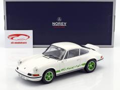 Porsche 911 RS Touring year 1973 white / green 1:18 Norev