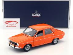 Renault 12 TS year 1973 orange 1:18 Norev