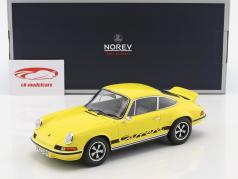 Porsche 911 RS Touring Opførselsår 1973 gul / sort 1:18 Norev