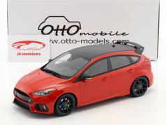 Ford Focus RS année de construction 2018 rouge 1:18 OttOmobile