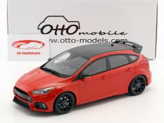 Ford Focus RS Baujahr 2018 rot 1:18 OttOmobile