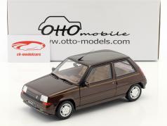 Renault Super 5 Baccara ano de construção 1984 marrom 1:18 OttOmobile
