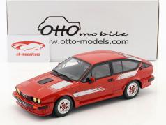 Alfa Romeo GTV6 Production Bouwjaar 1984 rood 1:18 OttOmobile