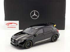 Mercedes-Benz AMG GLA 45 Yellow Night Edition noche negro 1:18 GT-Spirit