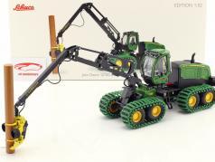 John Deere 1270G 8W Harvester 绿 1:32 Schuco