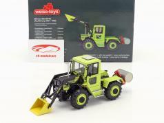 MB-trac 900 W440 tractor met voorladers Bouwjaar 1981 - 1982 groen 1:32 Weise-Toys