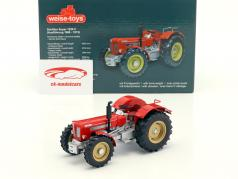 Schlüter Super 1250 V tractor Bouwjaar 1968 - 1973 rood / zilver 1:32 Weise-Toys