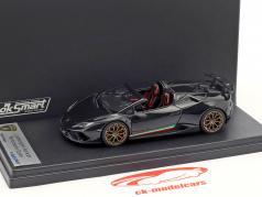 Lamborghini Huracan Performante Spyder ano de construção 2017 helene preto 1:43 LookSmart