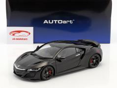 Honda NSX (NC1) Bouwjaar 2016 berlina zwart 1:18 AUTOart